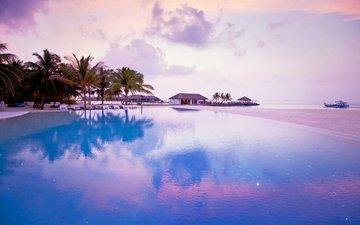 море, пляж, отдых, остров, курорт, тропики, мальдивы