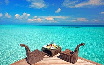 море, отдых, мальдивы