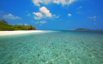 море, пляж, острова, отдых, тропики, мальдивы