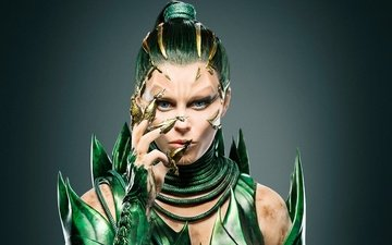 girl, fiction, look, fantasy, face, movies, elizabeth banks, 2017, power rangers, rita repulsa