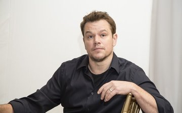 look, actor, sitting, producer, writer, matt damon