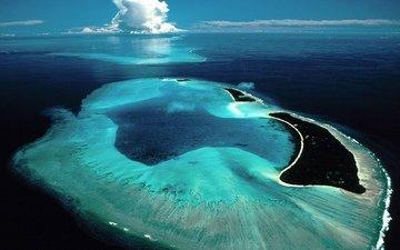 море, суша, остров, мальдивы, рифы, территория