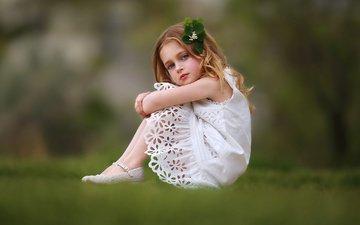 трава, природа, платье, лето, девочка, ребенок, туфли, katie andelman