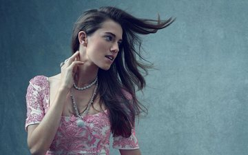 girl, look, hair, actress, hollywood, celebrity, american, allison williams