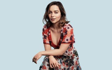 girl, look, hair, actress, british, emilia clarke