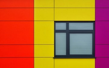 color, house, window, panel