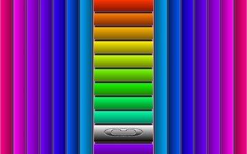 полосы, линии, цвет, фигуры, яркие, вертикальные, горизонтальные