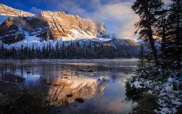 горы, канада, национальный парк банф
