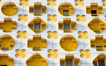 париж, архитектура, франция, карточный дом