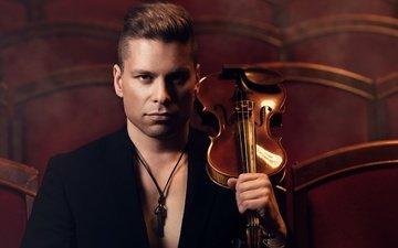 violin, theatre, musician, violinist