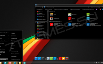 windows 8, the theme