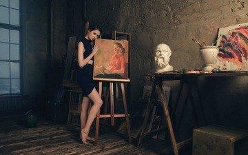 девушка, картина, творчество, диана шеметова