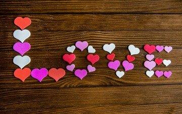 сердце, любовь, сердечки, день святого валентина