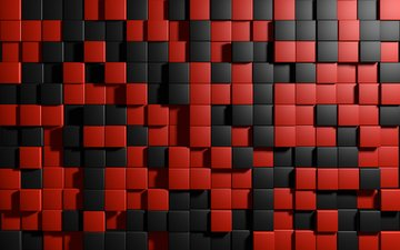 background, color, graphics, cubes, squares, cuba, 3d
