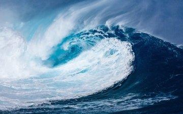вода, природа, море, волна, океан