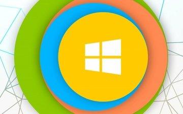 логотип, компьютер, эмблема, гаджет, операционная система, винда