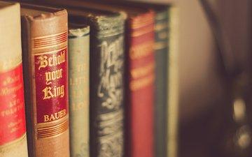 книги, переплет, полка, книжная полка
