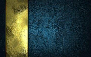 текстура, фон, полоса, золото