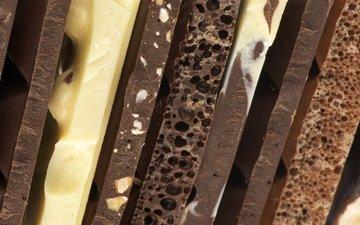 орехи, белый, шоколад, темный, плитки, пористый, горький, ассортимент