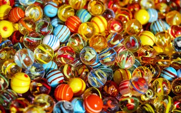 balls, colorful, marbles