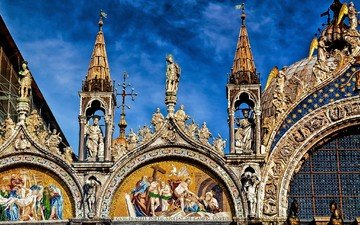venice, italy, the cathedral of st. mark