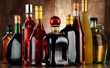 напитки, бутылки, алкоголь, коллекция, алкогольные напитки