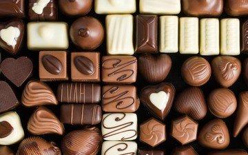 конфеты, сладости, шоколад, шоколадные конфеты