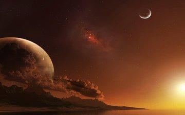 kosmos, planet