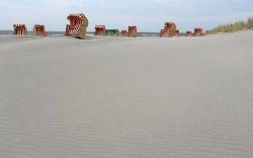 море, песок, пляж, шезлонг, matthias besant