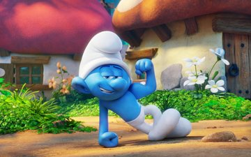 cartoon, comedy, 2017, the smurfs 3 - abandoned village, smurfs - the lost village