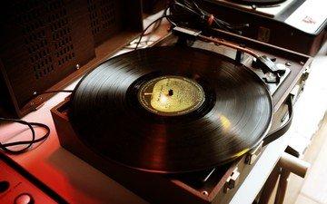 музыка, винил, пластинка, проигрыватель, пластинки