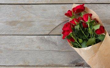 цветы, розы, лепестки, букет, красные розы