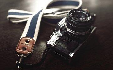 the camera, camera, lens
