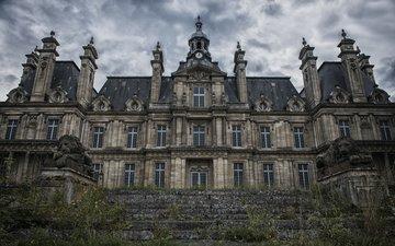 замок, франция, заброшенный, alex tassot, chateau corneille, старинный дом