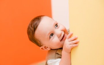 smile, portrait, children, child, boy, baby