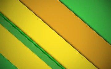полосы, желтый, абстракция, линии, фон, цвет, оранжевый, материал, дезайн, салатовый