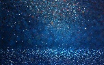 абстракция, фон, капли, цвет, блеск, боке
