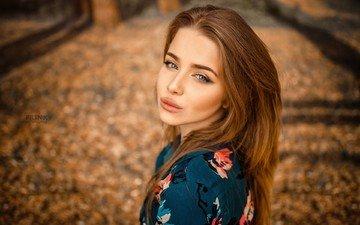 девушка, портрет, осень, модель, лицо, фотосессия, длинные волосы, сергей piltnik, сергей пильтник