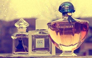 bottles, aroma, perfume, bottle, flavors, guerlain
