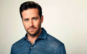 look, actor, face, male, armie hammer