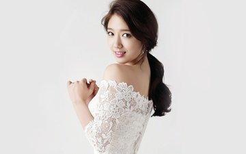 девушка, портрет, взгляд, модель, волосы, лицо, актриса, певица, пак шин хе, park shin hye