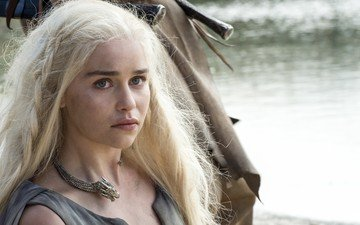 blonde, actress, game of thrones, emilia clarke
