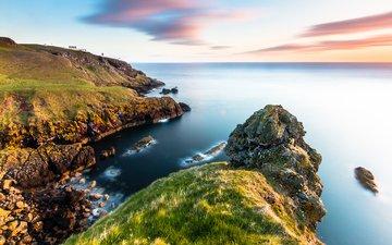 природа, пейзаж, море, побережье