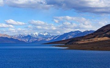 озеро, горы, природа, пейзаж