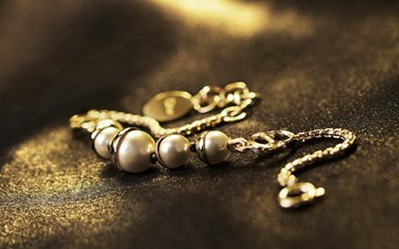 shine, gold, necklace, pearl, accessory, zsunfh