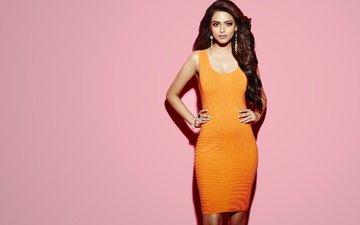 девушка, поза, взгляд, модель, лицо, длинные волосы, индийская девушка, priyadarshini, приядаршини чаттерджи, priyadarshini chatterjee
