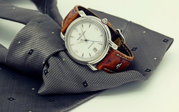 watch, tie