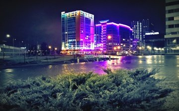 lighting, technopark, loft, macadam, business centre, technosoft, almond