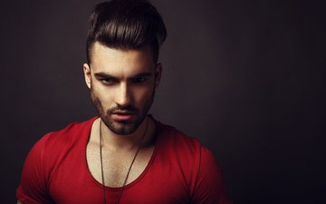 look, guy, face, male, hairstyle, haircut