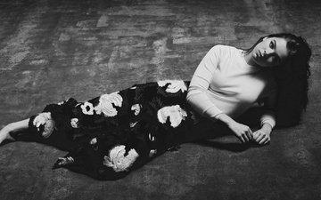 поза, брюнетка, актриса, hailee steinfeld